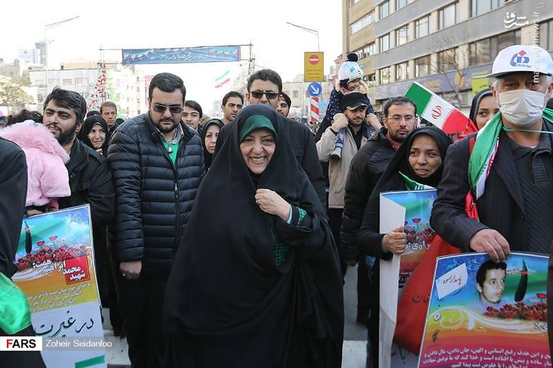 معصومه ابتکار معاون امور زنان و خانواده رئیس جمهور ایران