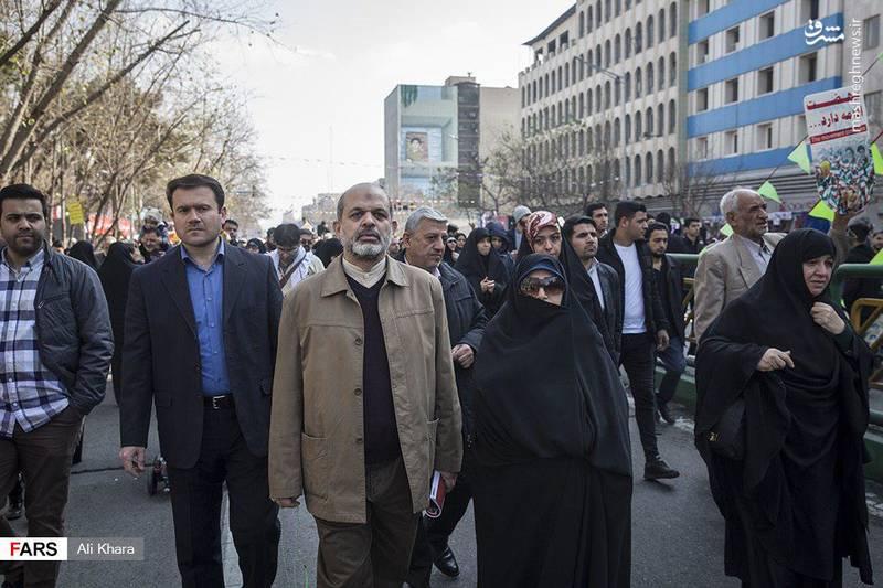 سردار احمد وحیدی از اعضای مجمع تشخیص مصلحت نظام