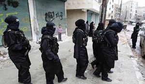 صدها زن داعشی در اسارت کُردها