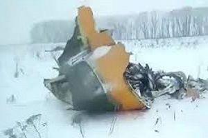 فیلم/ سقوط هواپیما مسافربری مسکو با 71 کشته