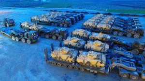 """عکس/ تقویت قوای ارتش ترکیه در """"عفرین"""""""