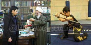 عکس/ اهدا نخستین طلای تالوی ایران به رهبر انقلاب
