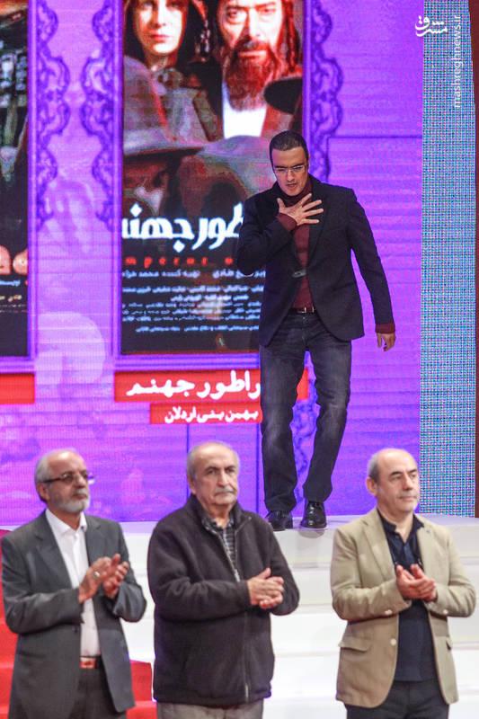محمدرضا فروتن «عضو هیأت داوران» در آیین اختتامیه سی و ششمین جشنواره فیلم فجر