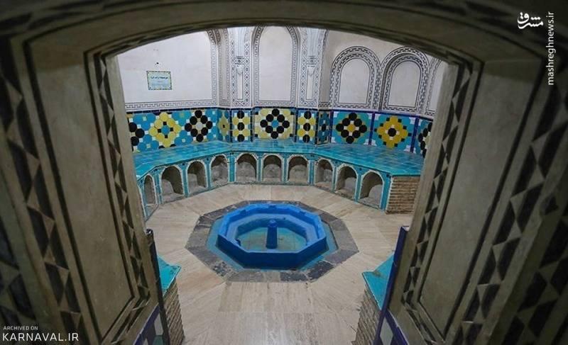 شواهد و آثار به دست آمده از این حمام، پیشینه آن را به دوران سلجوقیان نسبت می دهند