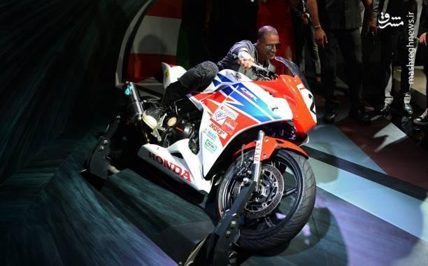 موتور مسابقه ای جدید هوندا