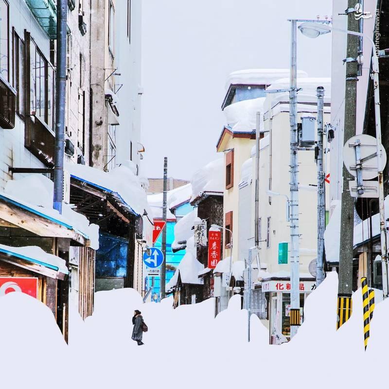 عکاسی به نام یانگ یین این تصاویر عجیب و اسرار آمیز که پوشش وسیعی از برف را شامل می شود،