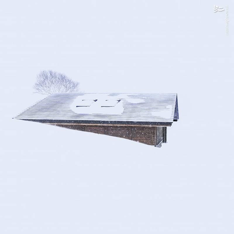 تصاویر جالب و دیدنی از برف در ژاپن