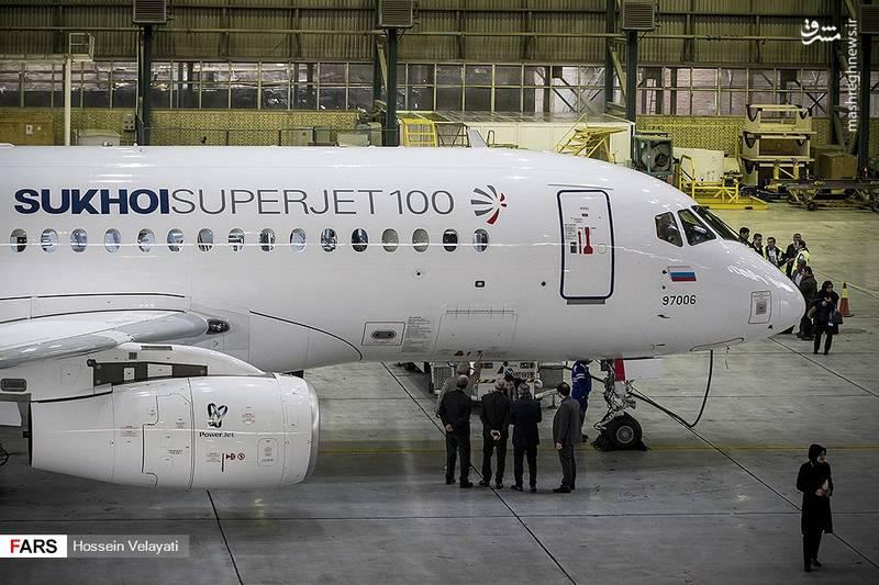 این هواپیما در نمایشگاه هوایی 2018 سنگاپور شرکت کرده بود که در مسیر خود به مسکو، امروز وارد تهران شد و بعد از ظهر امروز به روسیه پرواز می کند.
