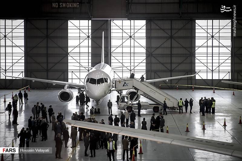 این هواپیما ساعت هفت صبح امروز وارد فرودگاه مهرآباد شد و قرار است ظرفیت های آن توسط شرکت روسی برای شرکت های هواپیمایی معرفی شود.