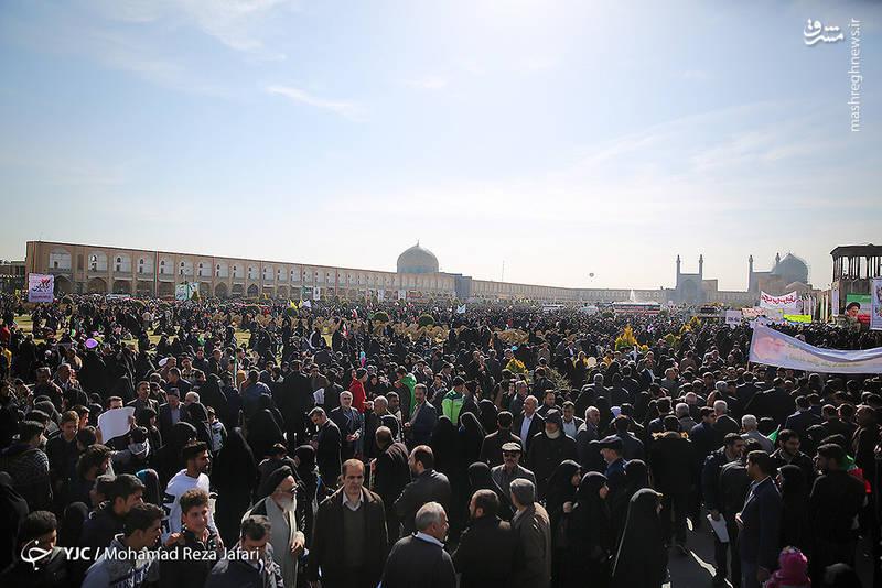 راهپیمایی 22 بهمن 1396 در اصفهان