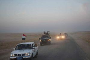 آغاز عملیات نیروهای عراقی برای تامین امنیت مسیر ۴۷۸ کیلومتری در مرزهای مشترک با سوریه + نقشه میدانی عراق و تصاویر