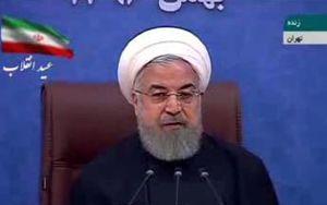 فیلم/ روحانی: امروز هم 98 درصد مردم به جمهوری اسلامی رای می دهند