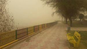 عکس/ رودخانه کارون محو شد