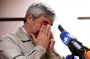 فیلم/ اشک های حاتمیکیا در مراسم بزرگداشت خود