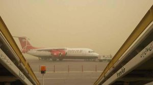 عکس/ وضعیت امروز فرودگاه اهواز