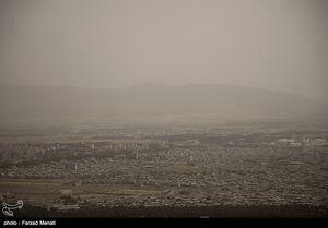 عکس/ آلودگی شدید هوا در کرمانشاه