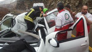 یک کشته براثر ریزش کوه در فشم +عکس