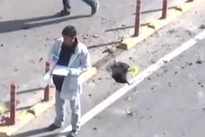 فیلم/ فرود موشک کردهای سوریه کنار یک پیرمرد