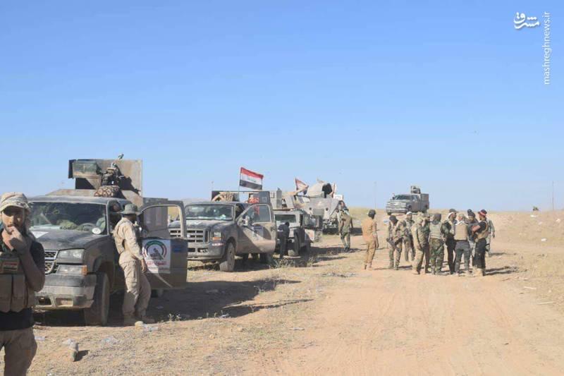 آغاز عملیات نیروهای عراقی برای تامین امنیت مسیر ۴۷۸ کیلومتری در مرزهای مشترک با سوریه