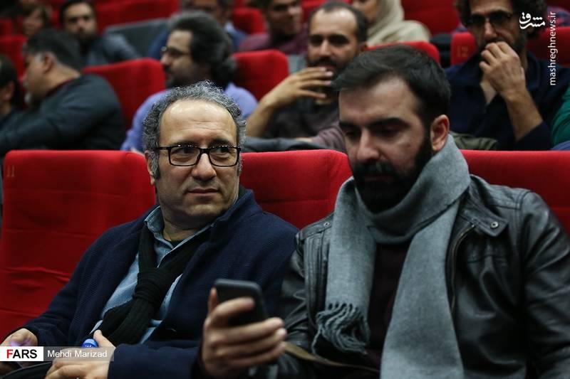 محسن قرایی و رضا میرکریمی