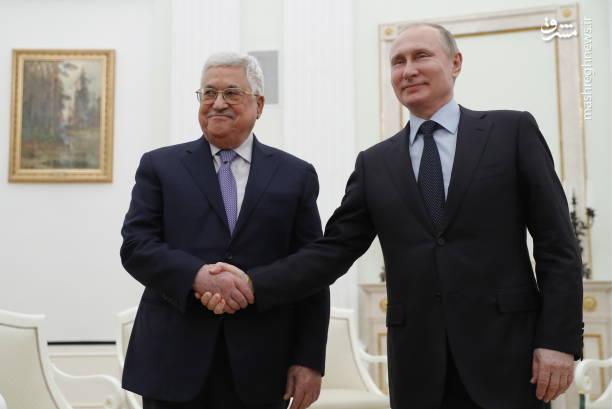 عباس در گفتوگو با پوتین تاکید کرد که دیگر نمیتوان نقش آمریکا به عنوان میانجی در مذاکرات سازش با اسرائیل را پذیرفت
