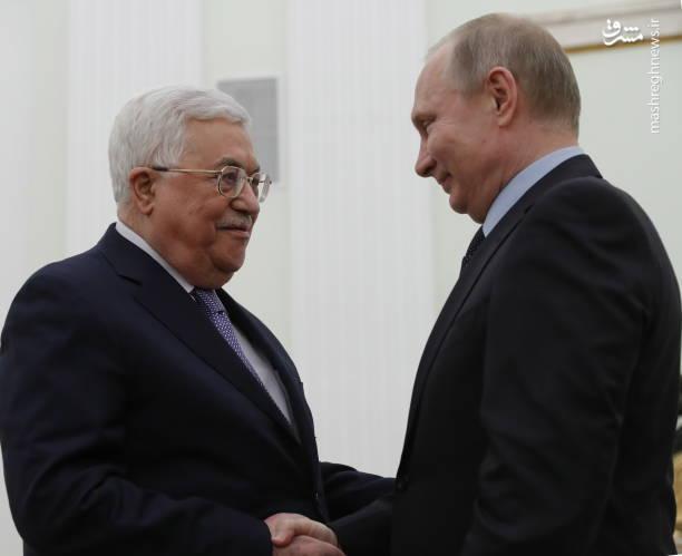رئیس تشکیلات خودگردان فلسطین در دیدار با رئیس جمهور روسیه در مسکو پیشنهاد داد مکانیزمی مانند مذاکرات هستهای ایران برای پیشبرد مذاکرات سازش با رژیم صهیونیستی ایجاد شود