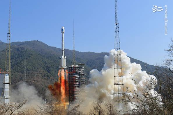 عکس/ پرتاب ماهوارهی موقعیت سنجی چین