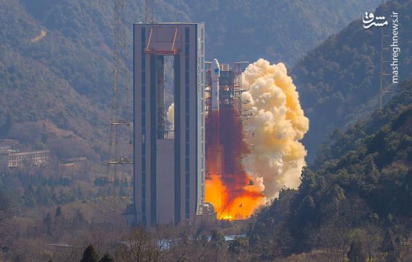 پرتاب ماهوارهی موقعیت سنجی چین
