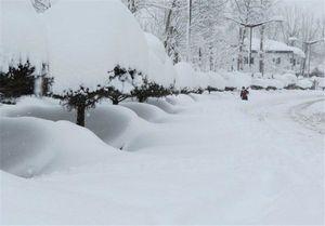 بارش نیم متری برف در سرعین
