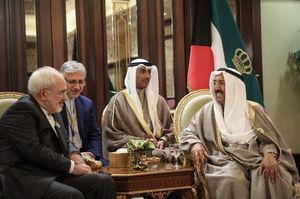 قدردانی امیر کویت از ایران