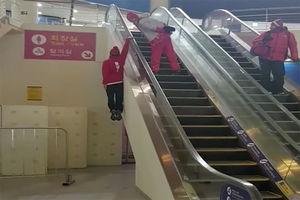 فیلم/ حرکت عجیب ورزشکار سوئیسی در کره جنوبی