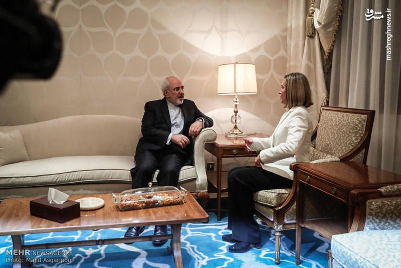 گفتوگوی ظریف با موگرینی در کویت
