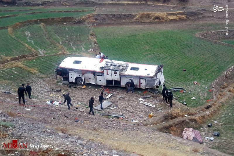 این حادثه در جاده یاسوج به سمت اصفهان