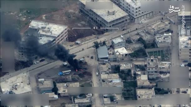 ارتش ترکیه برای اولین بار مرکز شهر عفرین را هدف قرار داد.