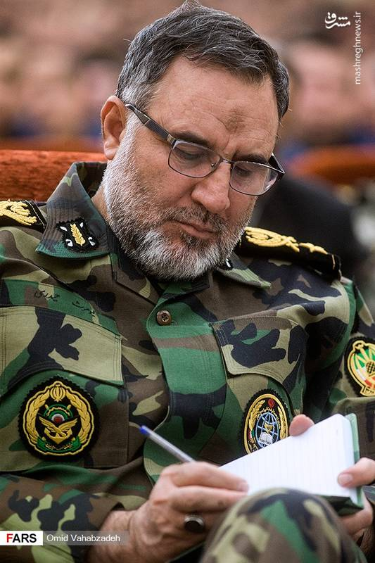 امیرسرتیپ کیومرث حیدری «فرمانده نیروی زمینی ارتش»