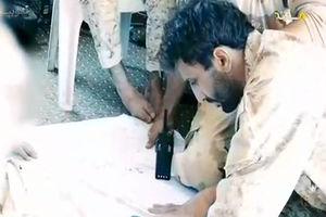 فیلم/ لحظه دردناک شهادت فرمانده شهید حججی