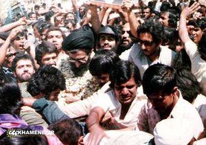 عکس/ استقبال مردم هندوستان از رهبر انقلاب