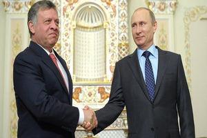 رایزنی «پوتین» و «عبدالله دوم» درباره بحران سوریه