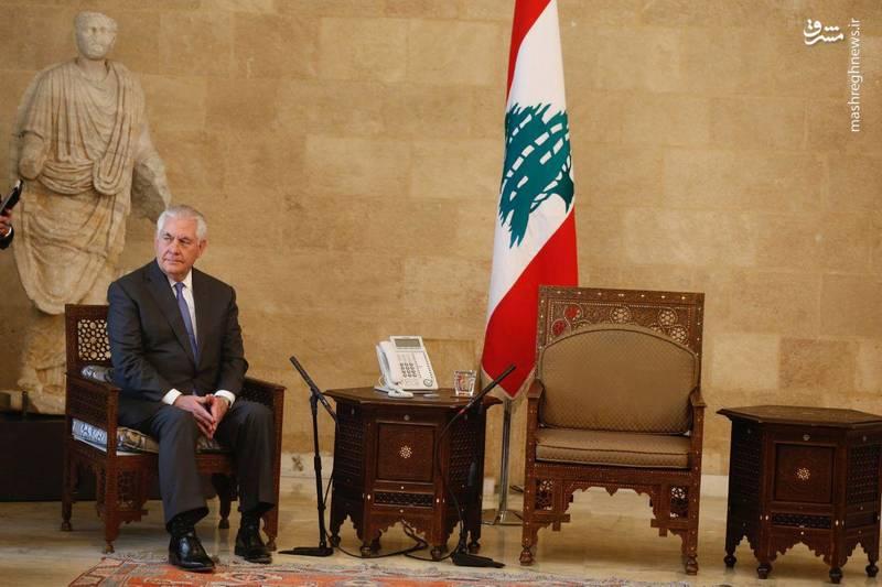 مقاومت لبنان آمریکا را تسلیم کرد +عکس
