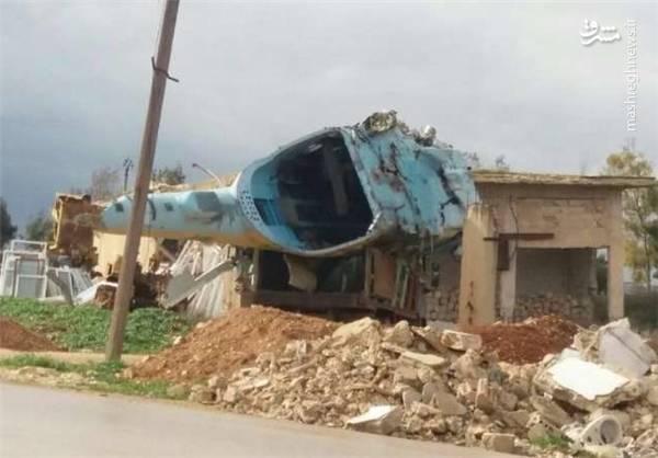 بمباران فرودگاهی که ترکیه قصد استقرار در آن را داشت +عکس