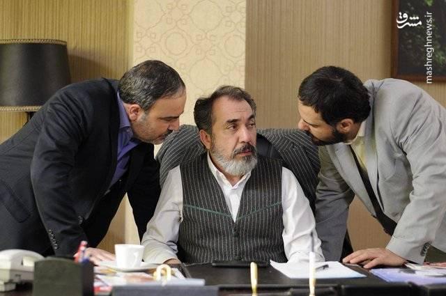 عکس/ سیامک انصاری در نقش سرپرست تیم فوتبال
