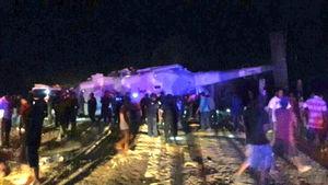 عکس/ سقوط بالگرد حامل وزیر کشور مکزیک