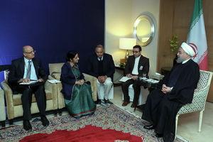 روحانی: برای توسعه روابط با هند محدودیتی قائل نیستیم