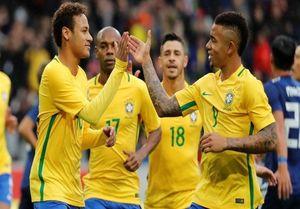 15 بازیکن برزیل در جام جهانی ۲۰۱۸ روسیه
