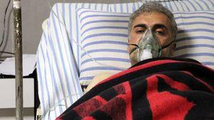 """عکس/ حمله ارتش ترکیه به """"عفرین"""" با گاز سمی"""
