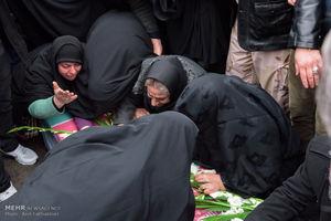 """عکس/ تشییع شهید حادثه """"سانچی"""" در کرج"""
