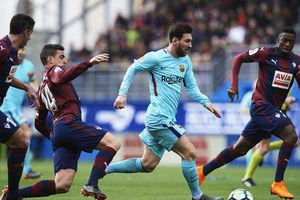 برتری بارسلونا مقابل ایبار در دیداری جنجالی
