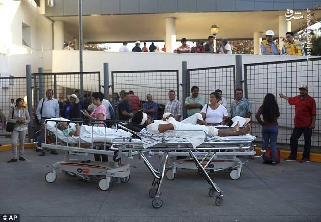 مرکز ملی زلزله شناسی مکزیک قدرت این زلزله را هفت ریشتر اعلام کرد اما مرکز زمین شناسی آمریکا ابتدا آن را 7.5 و سپس 7.2 ریشتر عنوان کرد