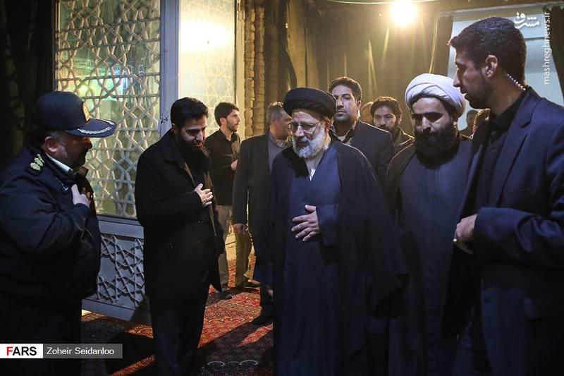 حضور سیدابراهیم رئیسی در یادواره شهدای واوان