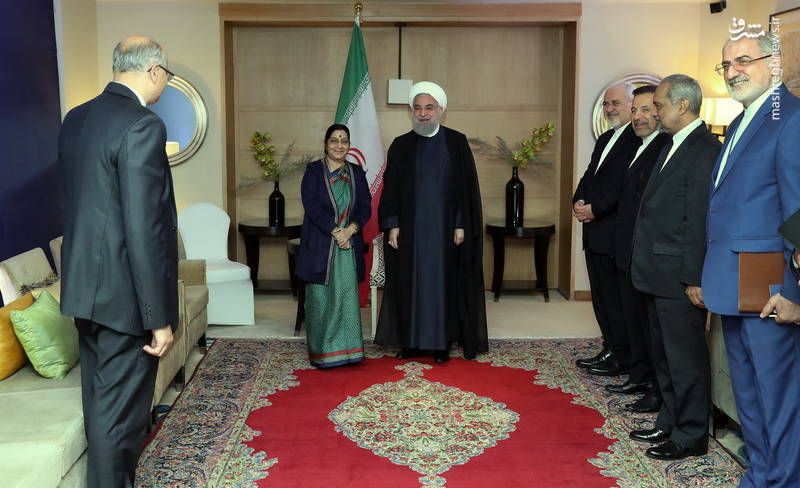 حسن روحانی: تهران از حضور فعالتر شرکتهای هندی در بازارهای ایران استقبال میکند